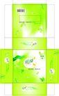 纸张设计0011,纸张设计,包装设计,轻柔 丽纯 感觉