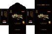 食品0124,食品,包装设计,炫酷 漆黑 纸壳