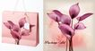 包装0035,包装,东方设计元素,粉色纸袋 花瓣 上市
