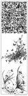 花纹0191,花纹,东方设计元素,花纹 黑色 动植物