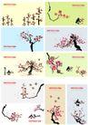 花纹0200,花纹,东方设计元素,春 果子 树木