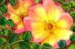 古典花卉底纹0012,古典花卉底纹,中国古典画,花丝 花藤 花蕊