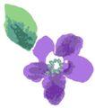 古典花卉底纹0019,古典花卉底纹,中国古典画,一朵花