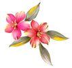 古典花卉底纹0027,古典花卉底纹,中国古典画,艳丽 花枝 吉祥