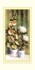 梅兰竹菊0001,梅兰竹菊,中国古典画,花盆 两桶 招展