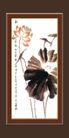 梅兰竹菊0027,梅兰竹菊,中国古典画,含蕴 风格 宁静
