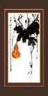 梅兰竹菊0030,梅兰竹菊,中国古典画,气节 诗句 生命意义
