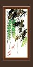 梅兰竹菊0031,梅兰竹菊,中国古典画,游东湖 长串的叶子 意趣