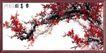 梅花牡丹0001,梅花牡丹,中国古典画,红梅 花枝 国画