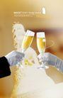婚纱0019,婚纱,韩国花纹Ⅲ,对饮 干杯 喝酒