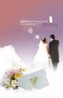 婚纱0020,婚纱,韩国花纹Ⅲ,卡片 阳光 耳环