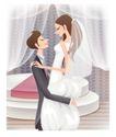 婚纱0021,婚纱,韩国花纹Ⅲ,婚姻 爱情 甜蜜