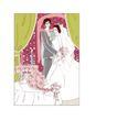 婚纱0032,婚纱,韩国花纹Ⅲ,新郎和新娘 小圆桌 蜡烛