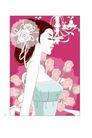 婚纱0037,婚纱,韩国花纹Ⅲ,粉色玫瑰 美丽吊灯 孤傲女郎