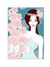 婚纱0047,婚纱,韩国花纹Ⅲ,花帘 憧憬 未来