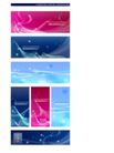 幻彩0017,幻彩,韩国花纹Ⅲ,英文 蓝色星际 红色烂漫