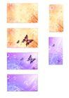 幻彩0040,幻彩,韩国花纹Ⅲ,野花 蝴蝶飞舞 柔和自然