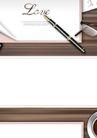 幻彩商务0085,幻彩商务,韩国花纹Ⅲ,签名 钢笔 英语