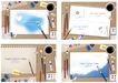 幻彩商务0087,幻彩商务,韩国花纹Ⅲ,温馨 便签 水彩