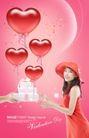 情谊物语0016,情谊物语,韩国花纹Ⅲ,蝴蝶结 爱情 绸带