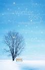 景物静物0136,景物静物,韩国花纹Ⅲ,雪花 凳子 雪中故事