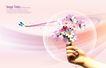 景物静物0142,景物静物,韩国花纹Ⅲ,馨香 鲜花 表达方式