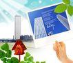 景物静物0155,景物静物,韩国花纹Ⅲ,信件 阳光 高楼
