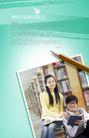 校园书生毕业生0028,校园书生毕业生,韩国花纹Ⅲ,铅笔 图书馆 阅读