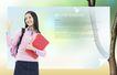 校园书生毕业生0035,校园书生毕业生,韩国花纹Ⅲ,长发美女 粉红书包 红色文件夹
