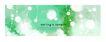 笔刷墨染古典图0073,笔刷墨染古典图,韩国花纹Ⅲ,春季印象 白色絮状 绿底