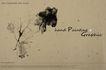 笔刷墨染古典图0079,笔刷墨染古典图,韩国花纹Ⅲ,絮状墨迹 淡墨丝 树枝状