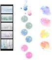 笔刷墨染古典图0118,笔刷墨染古典图,韩国花纹Ⅲ,图画 色彩 梦幻
