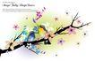 花纹0150,花纹,韩国花纹Ⅲ,花鸟 鸟语花香 和谐