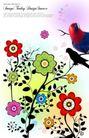 花纹0152,花纹,韩国花纹Ⅲ,颜色 鹦鹉 画卷