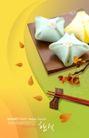 餐饮元素0011,餐饮元素,韩国花纹Ⅲ,筷子 糕点 花形