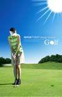 高尔夫0004,高尔夫,韩国花纹Ⅲ,俯身 击球 姿势