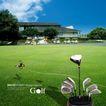 高尔夫0015,高尔夫,韩国花纹Ⅲ,蝴蝶 房屋 球具