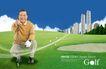 高尔夫0021,高尔夫,韩国花纹Ⅲ,运动 健身 休闲