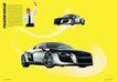 交通工具0013,交通工具,版式设计,轮胎 举手 打电话