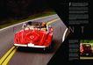 交通工具0037,交通工具,版式设计,公路 红色敞篷车 两名男子