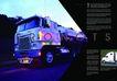 交通工具0039,交通工具,版式设计,运油车 马路 傍晚