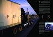 交通工具0040,交通工具,版式设计,大货车 路灯 蓝天