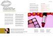 化妆品0037,化妆品,版式设计,一支口红 化妆盒 女子侧脸