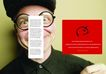 商务0069,商务,版式设计,眼镜 夸张 帽子