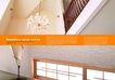 建筑风景0047,建筑风景,版式设计,屋顶 吊灯 装饰