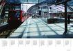 建筑风景0063,建筑风景,版式设计,车站 游人 地铁