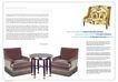 建筑风景0072,建筑风景,版式设计,圆茶几 暗色沙发 花纹沙发