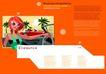 插画0016,插画,版式设计,橘色空间