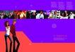 插画0023,插画,版式设计,科技 信息 交流