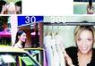 时装购物0069,时装购物,版式设计,汽车 衣架 美女